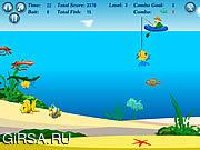 Флеш игра онлайн Рыболов удачи