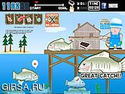 Флеш игра онлайн Fish and Serve V2