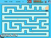 Флеш игра онлайн Лабиринт Рыба / Fish Maze