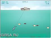 Флеш игра онлайн Рыбак Сэм / Fisherman Sam