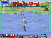 Флеш игра онлайн Рыбак-Чемпион