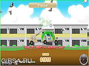 Флеш игра онлайн Тележка рыб / Fish Truck