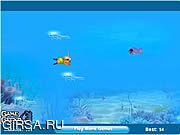 Флеш игра онлайн Мир рыбок / Fishy