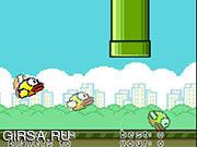 Флеш игра онлайн Flappy Bird Multiplayer