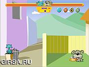 Флеш игра онлайн Кот против Пса