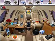 Флеш игра онлайн В полете / Flight Interior Objects