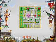 Флеш игра онлайн Поиски цветка