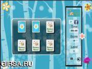 Флеш игра онлайн Подбери пару  - Цветы / Flowers Memory Match