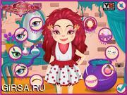 Флеш игра онлайн Fluffy Monsterette Makeover