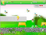 Флеш игра онлайн Летающее Яйцо