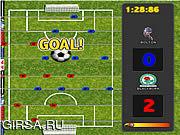 Флеш игра онлайн Premiere League Foosball
