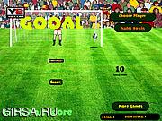 Флеш игра онлайн Футбольная подача / Football Kick And Score