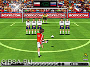 Флеш игра онлайн Football Kicks