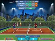 Флеш игра онлайн Футбольный теннис