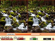 Флеш игра онлайн Лесные Водопады / Forest Waterfalls