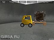 Флеш игра онлайн Автопогрузчик Опасности