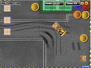 Флеш игра онлайн Парковка погрузчика / Forklift Parking