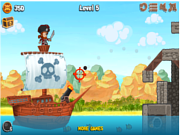 Флеш игра онлайн Атака форта / Fort Blaster Puzzle