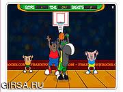 Флеш игра онлайн Откровенные обручи городка / Frank Town Hoops