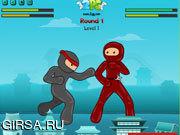Флеш игра онлайн Неистовый ниндзя