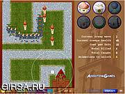 Флеш игра онлайн Оборона башни подружки Fratboy