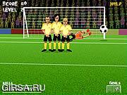 Флеш игра онлайн Свободный удар / Free Kick