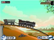 Флеш игра онлайн Freight Train Mania