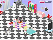 Флеш игра онлайн Веселая Няня