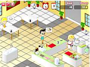 Флеш игра онлайн Вкусная лапша / Frenzy Noodle