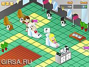 Флеш игра онлайн Безумный салон
