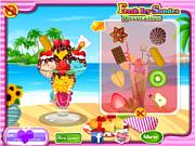 Флеш игра онлайн Ледяное мороженое / Fresh Icy Sundae