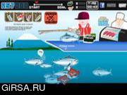 Флеш игра онлайн Fresh Sushi Cooking