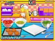 Флеш игра онлайн Жареные Пальто / Fried Coat's Cheese With Tomato