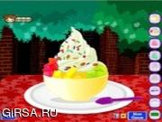 Флеш игра онлайн Вкусный десерт / Fro Yo Fun