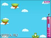 Флеш игра онлайн Frog Jump To Prince
