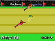 Флеш игра онлайн FrogRace