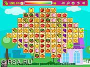 Флеш игра онлайн Плоды Подключить 2.1 / Fruit Connect 2.1