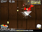 Флеш игра онлайн Fruit Ninja Kitchen War