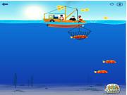 Флеш игра онлайн Забавная рыбалка