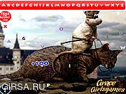 Флеш игра онлайн Смешные животные. Скрытый алфавит / Funny Animals Hidden Alphabet