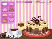Флеш игра онлайн Забавное украшение торта / Funny Cake Decoration