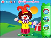 Флеш игра онлайн Funny Clown Decorating