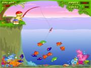 Флеш игра онлайн Funny Fishing Yeay