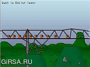 Флеш игра онлайн Строительство моста