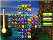 Флеш игра онлайн Подбери пару  - Галактические брюлики / Galactic Gems 2