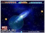 Флеш игра онлайн Galaxy Fireballs