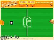 Флеш игра онлайн Гарфилд Табби Теннис
