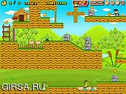 Флеш игра онлайн Крокодилы на охоте / Gator Duck Hunt