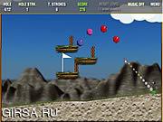 Флеш игра онлайн Жемчужина Гольф