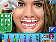 Флеш игра онлайн Джемма Аткинсон у стоматолога